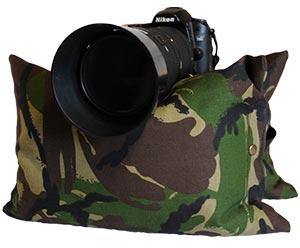 Camo Camera Bean Bags