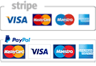 payment methods stripe and paypal